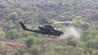 Pak Army and PAF tested their joint conventional fire power capability in Central Command