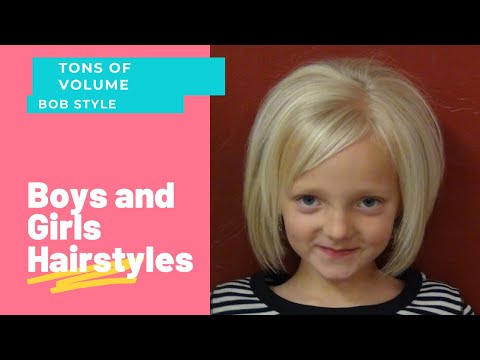 (Short Haircuts) On Little Girl Hairstyles