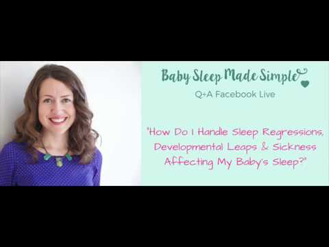 How To Handle Baby Sleep Regressions, Teething & Illness