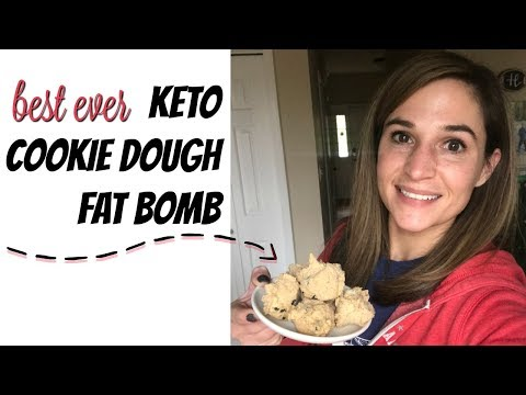 Best Ever Keto Cookie Dough Fat Bomb