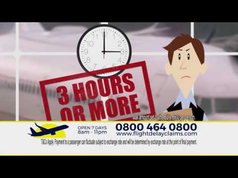 Flight Delay Claims TV Commercial