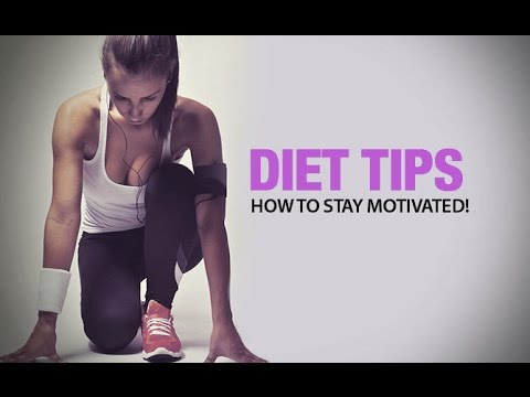 4 Best Diet Tips for Women (HOW TO STAY MOTIVATED!!)