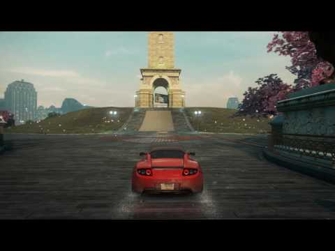 Need for Speed  Most Wanted - Slow Drive Around Town (Slow TV)