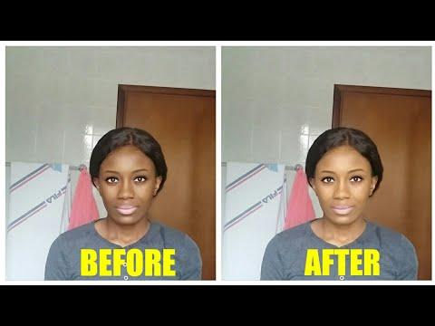 Natural Skin bleach DIY