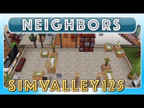 Sims FreePlay - SimValley125's House (Neighbor's Original House Design)