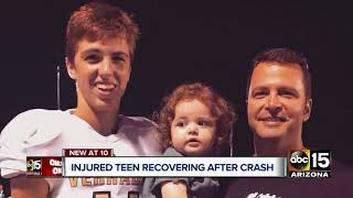 Valley teen recovering after serious crash in Goodyear