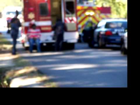 A, CAR  AND  AMBULACE  IN  A. ACCIDENT  IN   COLUMBUS.   GA.  10-25-2013100 7843