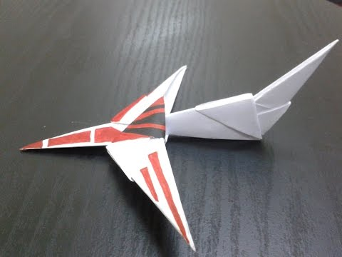 Paper Craft - How to make 3d paper jet plane at school / home