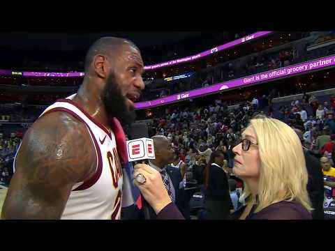 LeBron James stays humble after dropping 57 points   ESPN