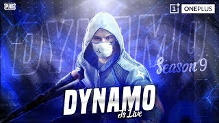 PUBG MOBILE SEASON 9 LIVE WITH DYNAMO | SUNDAY NIGHT CHILL STREAM | #HailHydra #HydraOP