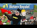 Batmans First Time Playing Fortnite Battle Royale Animation