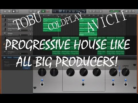 How to actually make PROGRESSIVE HOUSE in Garageband! (Behind the beat of
