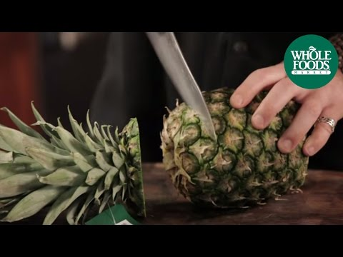 How to Cut a Pineapple | Produce | Whole Foods Market
