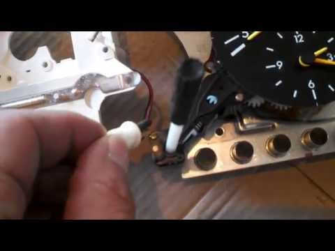 1990 mercedes benz 190E instrument cluster removal