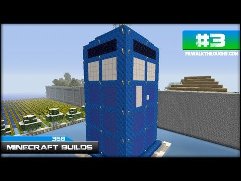 Minecraft Builds Doctor Who Tardis (Xbox 360) Episode 3