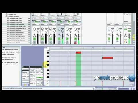 Ableton Tutorial: Minimal House Tutorial - How to produce a Minimal House Beat in Ableton