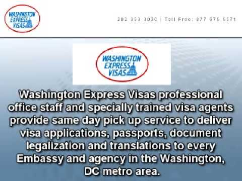 Washington DC Visa Processing and Authentication