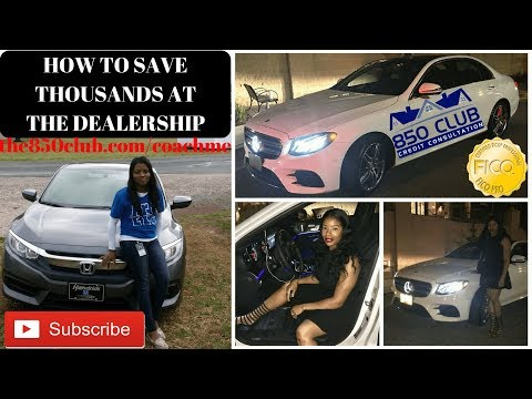 How To Save Thousands At The Dealership When Buying/Leasing A New Car - We Negotiate W/The Salesman