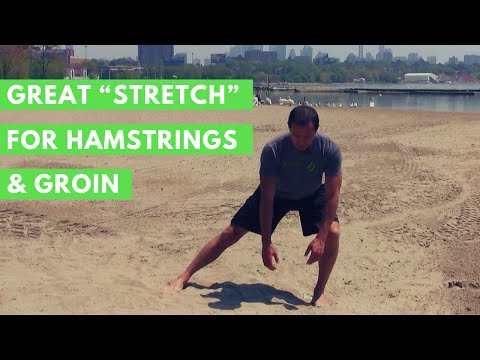 """Great """"Stretch"""" for Hamstrings & Groin"""
