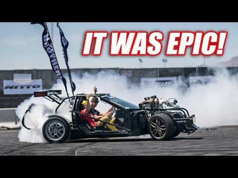 Leroy Goes INSANE At Hoonigan + We Try A REAL Drift Course! (LS Fest West Day 1)