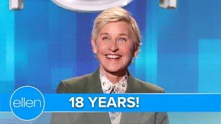 Ellen Compares the Show to a Long-Term Relationship