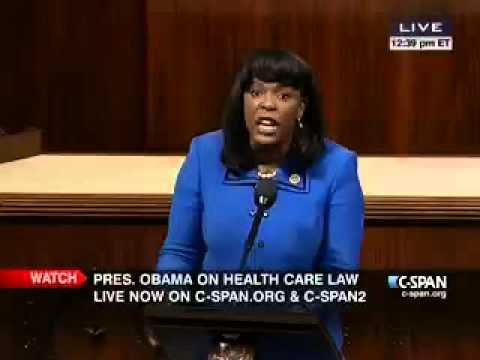 Congresswoman Sewell on the House Floor in Honor of Birmingham Council President Maxine Parker