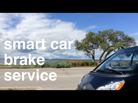 Smart Car Service Swindle? Replacing Front Brake Pads and Rotors