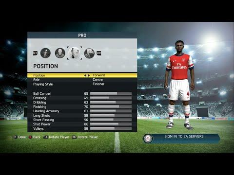 FIFA 14 Player Career Ep. 1 (Player Creation)