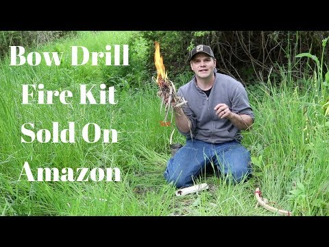Should I Make Primitive Survival Videos Again? Primitive Bow Drill Fire Kit Sold On Amazon.