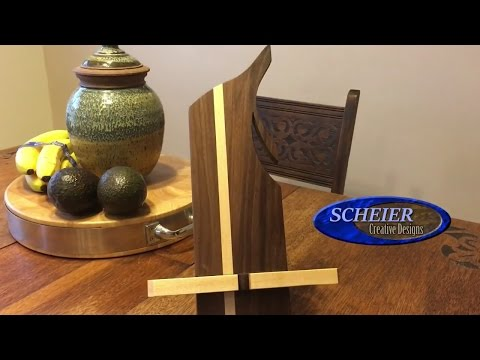 iPad stand/ holder / Diy Woodworking