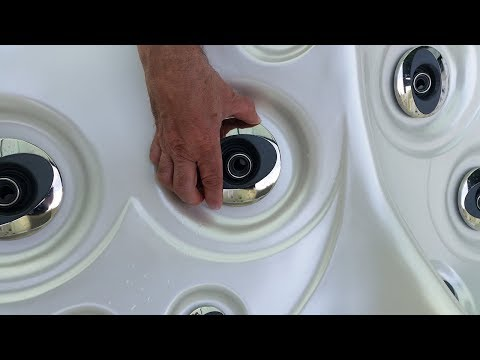 Removing Hot Tub & Spa Jets Tutorial by Hot Tub Suppliers