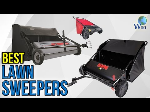 6 Best Lawn Sweepers 2017