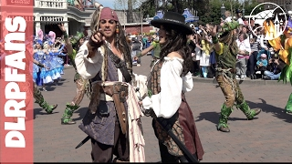 Jack Sparrow and other fun Pirate stuff at Disneyland Paris