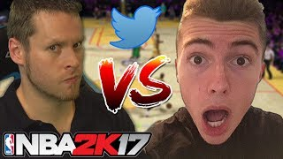 TROYDAN vs HANKDATANK PACK & PLAY TWITTER WAGER!! NBA 2K17