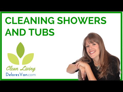 Norwex Cleaning Showers; Soap Scum, Hard Water, Rust Stains, Lime, Scale, Calium Build-up,