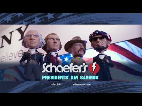 Presidents' Day Event at Schaefer's- Electrolux Appliances