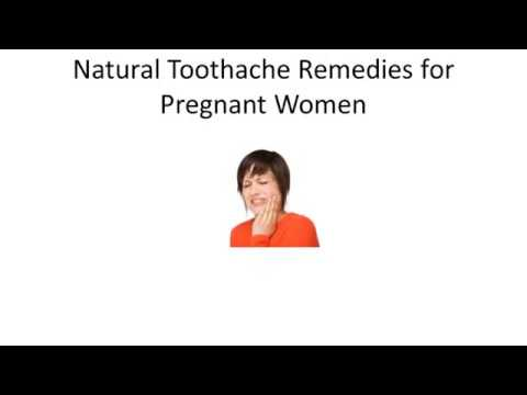 Home Remedies Toothache for Pregnant Women