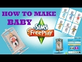 How to make baby on SIMS FREE PLAY (2017)