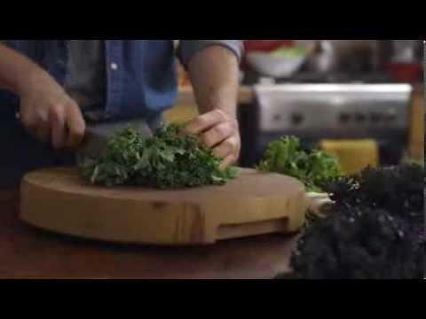 Campanelle with Meat Sauce, Kale & Crispy Pancetta