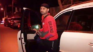 Harbhajan Singh spotted late night outside Geeta Basra