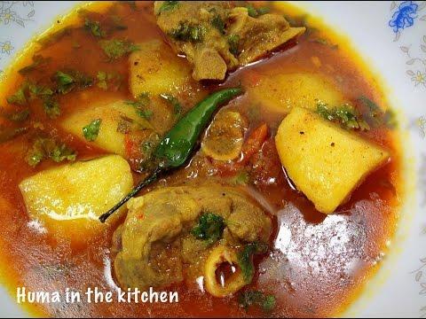 Aloo Gosht Recipe by (HUMA IN THE KITCHEN)