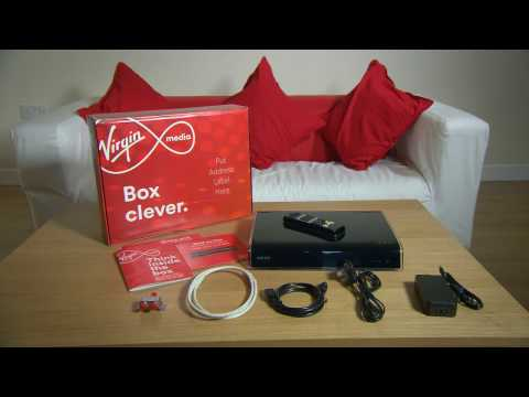 Setting up your TV Box with a Virgin Media Hub.