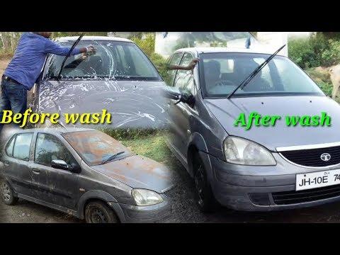 कार धोने का आसान तरीका ( घर पर ही ) by Karunesh & Pappu Ji