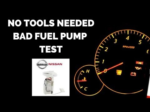 How to Tell if BAD FUEL PUMP with NO TOOLS
