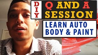 Learn Auto Body & Paint DIY Q and A Session