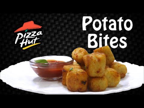Make POTATO BITES like Pizza Hut at home !! Simply yummylicious..