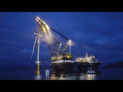 Hywind Scotland - the world's first floating wind farm