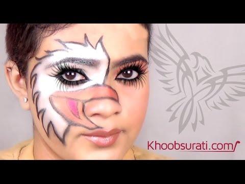 Eagle Face Makeup Tutorial By Khoobsurati.com