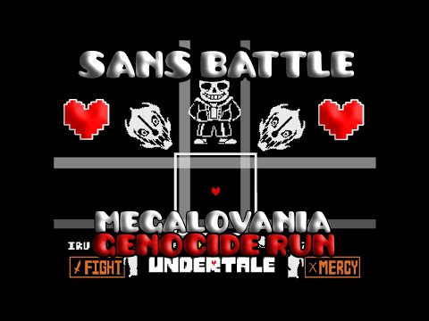 UNDERTALE - Sans Battle (100%) [Genocide run - Final fight]
