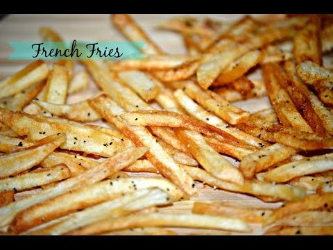 French Fries Recipe - Homemade Crispy French Fries Recipe | McDonalds French Fries